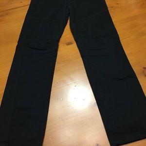 Bottoms - Shaun White black trousers, size 14